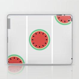 Watermelon Clock Triptych Laptop & iPad Skin