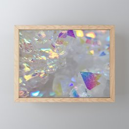 Angel aura Framed Mini Art Print