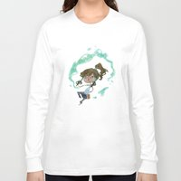 korra Long Sleeve T-shirts featuring Chibi Korra by Serena Rocca