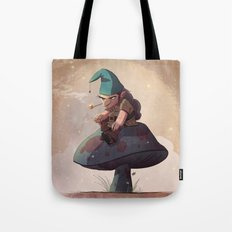 Gnome Away From Home Tote Bag