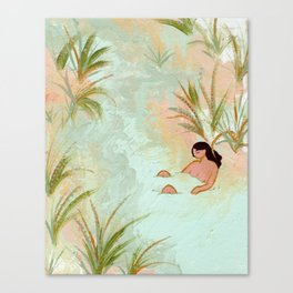 River Meeting Canvas Print
