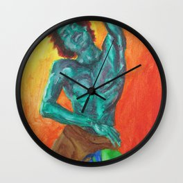 The Color Of Music Wall Clock