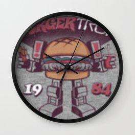 Burger Tron Wall Clock