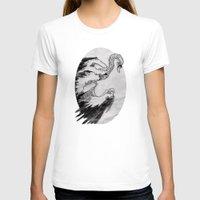 swan T-shirts featuring swan by vasodelirium