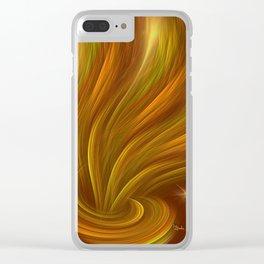 Aladdin effect Clear iPhone Case