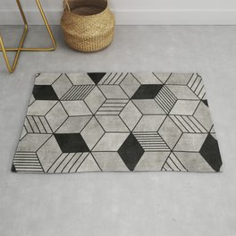 Concrete Cubes 2 Rug
