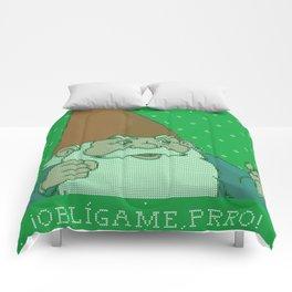 Oblígame prro Comforters