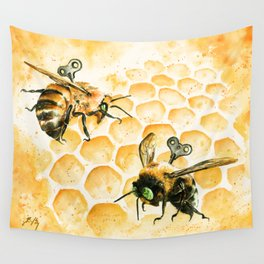 Just Like Honey Wall Tapestry