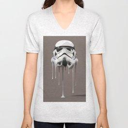Stormtrooper Melting Unisex V-Neck