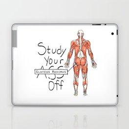 Study Your Gluteus Maximus Off Laptop & iPad Skin