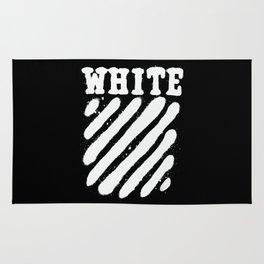 Off-White Brush Rug