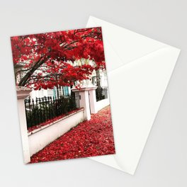 Autumn in Notting Hill Stationery Cards