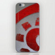 Red Sun iPhone & iPod Skin