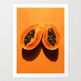 Pop Papaya Art Print