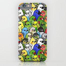 Too Many Birds! - Cockatiel iPhone Case