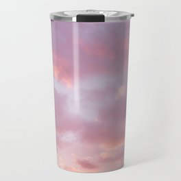 Unicorn Sunset Peach Skyscape Photography Travel Mug