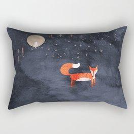 Fox Dream Rectangular Pillow