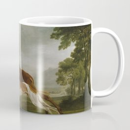 George Stubbs  -  Hound Coursing A Stag Coffee Mug
