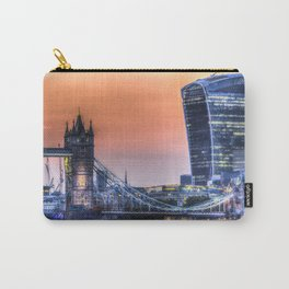 Tower Bridge and the Walkie Talkie Building Carry-All Pouch