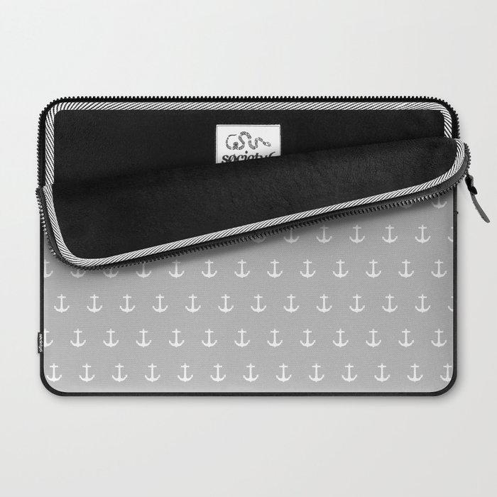 Anchor Print Laptop Sleeve