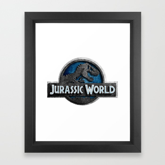 Jurassic World Framed Art Print