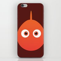 finding nemo iPhone & iPod Skins featuring PIXAR CHARACTER POSTER - Nemo - Finding Nemo by Marco Calignano