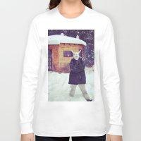 montana Long Sleeve T-shirts featuring Montana by Art Department Bunny
