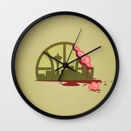 Zombie Sonics Wall Clock