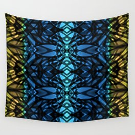 Fractal Art Stained Glass G315 Wall Tapestry