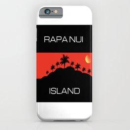 Rapa Nui Island iPhone Case