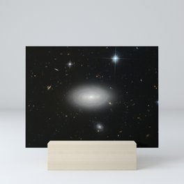 Hubble Space Telescope - The loneliest of galaxies Mini Art Print