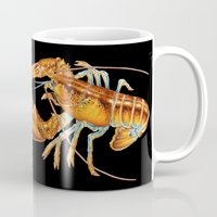lobster Mugs featuring Maine Lobster by Tim Jeffs Art