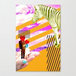 love strokes Canvas Print