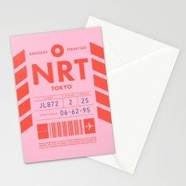 Baggage Tag D - NRT Tokyo Narita Japan Stationery Cards