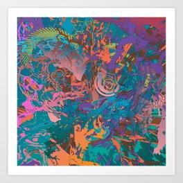 Blasted Art Print