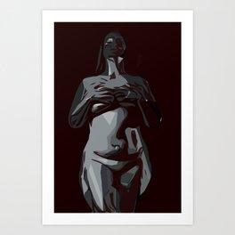 Saskia Art Print