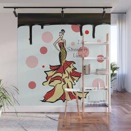 I love Strawberry Vanilla Wall Mural