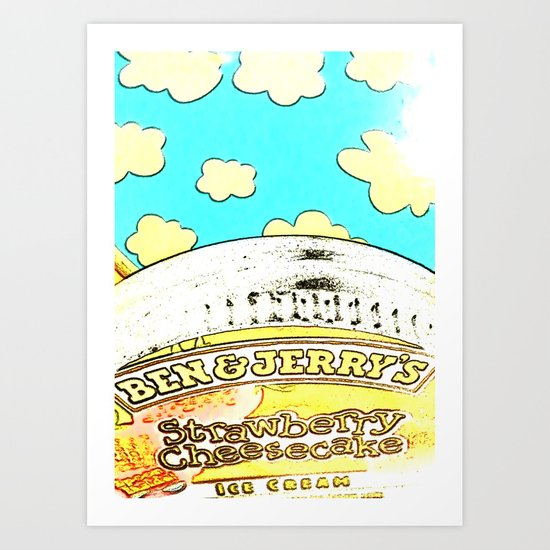 TOUCH THE SKY Art Print