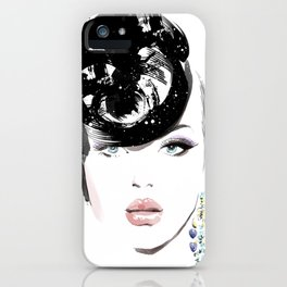 Fashion Painting #6 iPhone Case