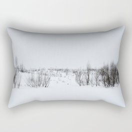 Wintery landscape Rectangular Pillow