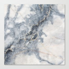 Gray Marble Texure Canvas Print