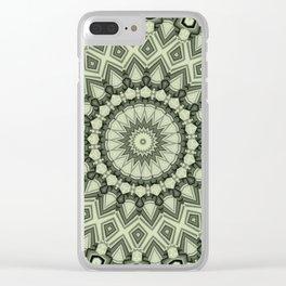 Lines-Balls-Mandalas Kaleidoscope5 Clear iPhone Case