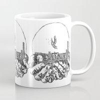 bastille Mugs featuring Bastille by hardyboys