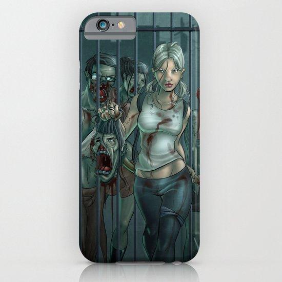 Zombie Slayer iPhone & iPod Case