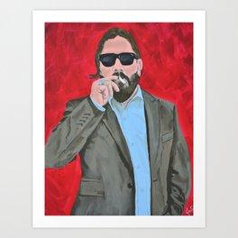 Bad Man Art Print