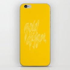 Golddigger iPhone & iPod Skin