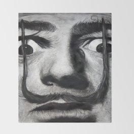 I am drugs ( Salvador Dali ) Throw Blanket