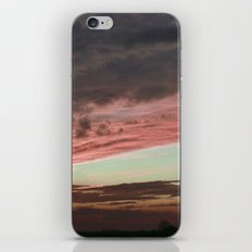 Pink Sunset, Macomb IL iPhone & iPod Skin