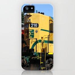 Engine 216 - The Yellow Bird iPhone Case