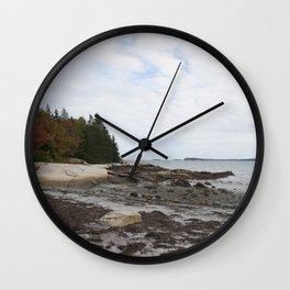Rocky Coast of Maine Wall Clock